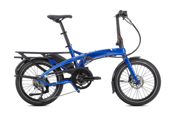 Tern Vektron Q9 Active 400 Electric Folding Bike Blue
