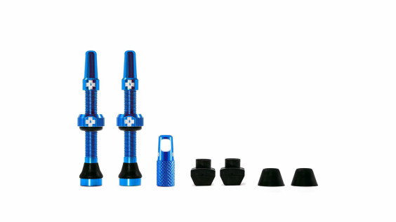 Muc-off Tubeless valves 44mm Blue