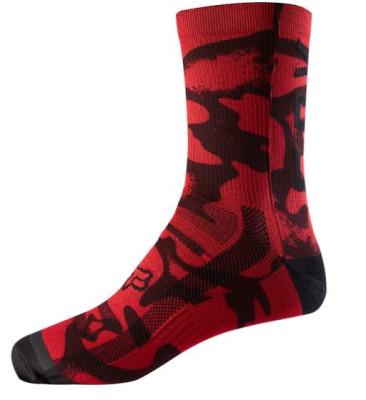 "FOX 8"" Print Sock"