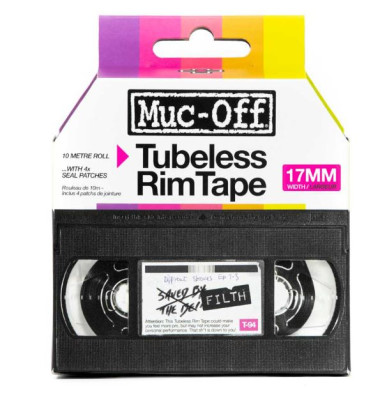Muc Off Rim Tape 10m Roll 17mm Boxed