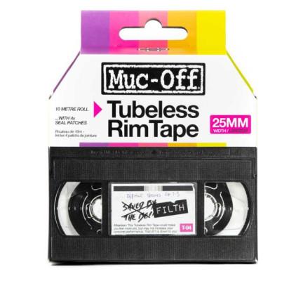 Muc Off Rim Tape 10m Roll 25mm Boxed