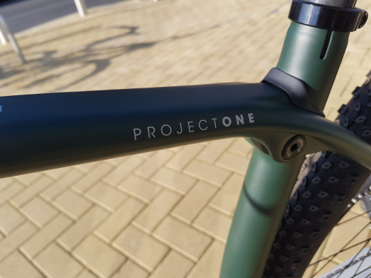 Trek Procaliber SL Project One 19.5 Solid Logo