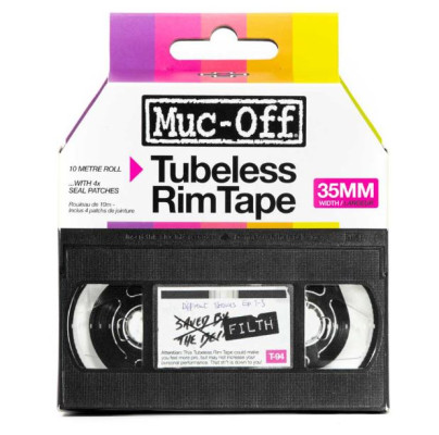 Muc Off Rim Tape 10m Roll 35mm Boxed