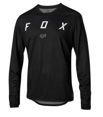 Fox Indicator LS Mash Camo Jersey Black