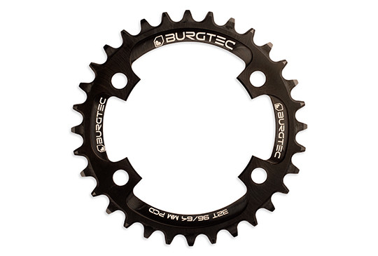 Burgtec Black 32T 96/64mm PCD Thick Thin Chainring