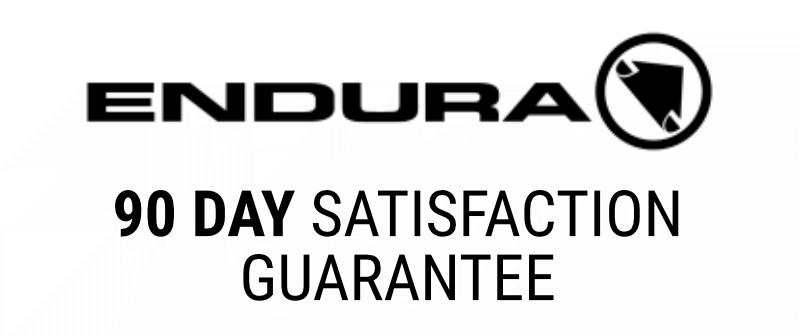 Endura 90 Day Satisfaction Guarantee