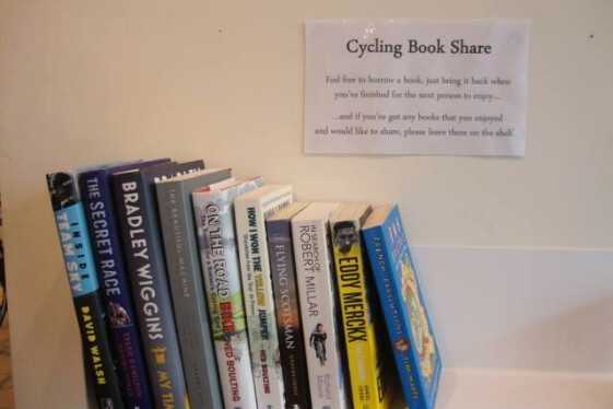 Cycling Book Share