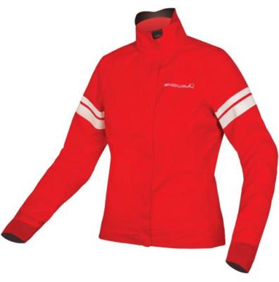 Endura Wms Pro SL Shell Jacket: Red - XS