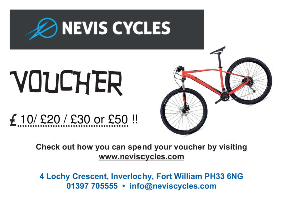 Nevis Cycles Gift Voucher