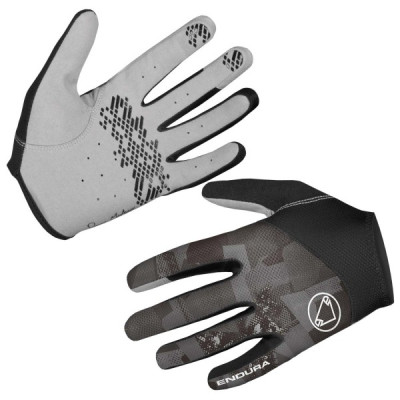 Endura Hummvee Lite Glove: MattBlack - XXL