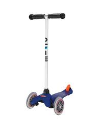 Mini Micro T-Bar Scooter Blue