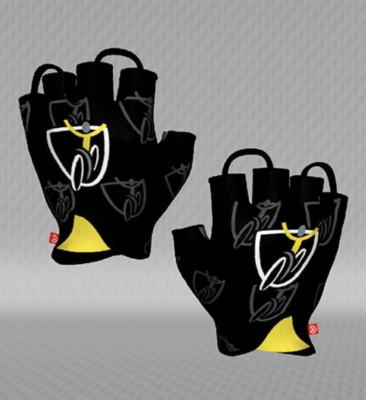 Jakroo Yellow Jersey Fingerless gloves