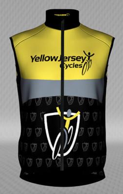Jakroo Yellow Jersey Wind Proof Gilet