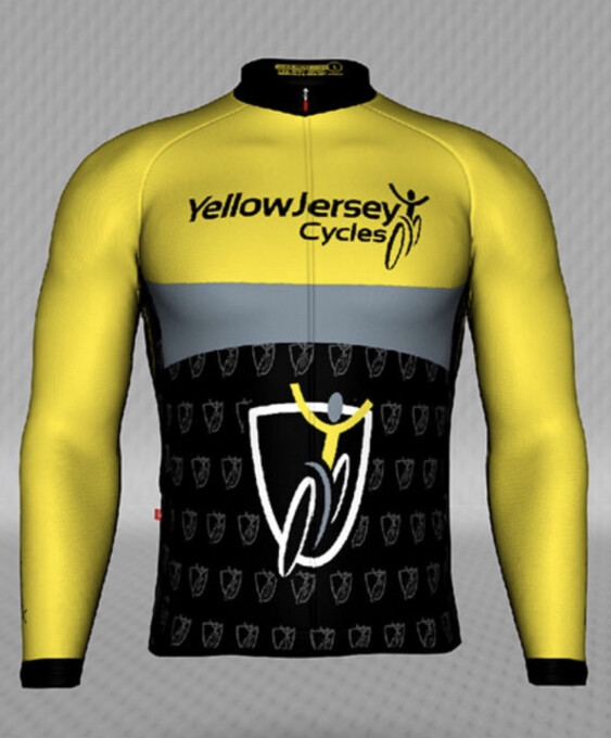 Jakroo Tour Yellow Jersey LS Thermal Jersey